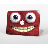 """The Red Smiling Fuzzy Wuzzy Skin Set for the Apple MacBook Pro 13""""   (A1278)"""
