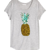 H&M Top with Sequins $17.99