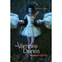 The Vampire Diaries Poster TV Q (11 x 17 Inches - 28cm x 44cm) Candice Accola Poster Print, 22x34 Poster Print, 22x34