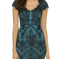 Bethany Lace Fitted Dress