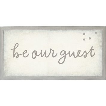 Vintage Be Our Guest