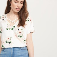 Strappy Front Top