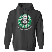 Stabilitees Starwars Coffee May the Froth Be With You Mens Hoodie and Womens Hoodie