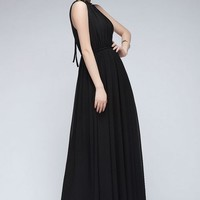 Summer New Lace Chiffon Dress