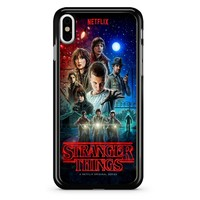 Stranger Things Poster 2 iPhone X Case