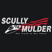 Scully Mulder 2016 X-Files T-Shirt