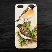 Two Birds on One iPhone 4 and 5 Case