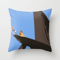Lion King Throw Pillow by TheWonderlander | Society6