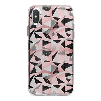 Karamfila Marble & Rose Gold v13 - Crystal Clear Hard Case for the iPhone XS MAX, XS & More (ALL AVAILABLE)