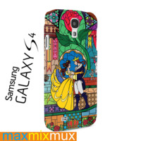 Beauty And The Beast Rose Samsung Galaxy Series Full Wrap Cases