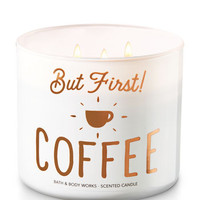 BUT FIRST, COFFEE!3-Wick Candle