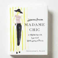 Lessons From Madame Chic by Anthropologie White One Size House & Home