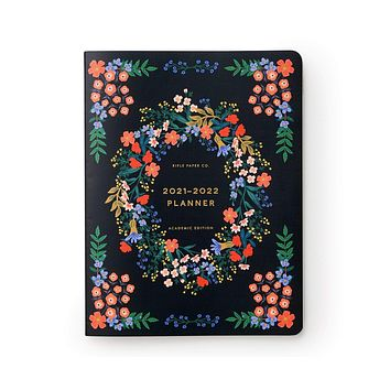 2022 Luxembourg Rifle Paper Co. 12-Month Academic Planner
