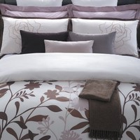 EverRouge May Blossom 7-Piece Cotton Duvet Cover Set, Queen