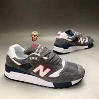 """""""New Balance 998"""" Unisex Sport Casual N Words Multicolor Retro Sneakers Couple Running Shoes"""