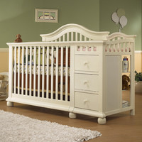Sorelle Cape Cod Convertible Crib and Changer Combo 1091
