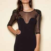 THE GENERAL DRESS BLACK by andre.nicole on Sense of Fashion