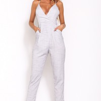 Great Mystery Jumpsuit Grey