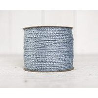 Light Blue Twine - 2 Ply Jute, 100 Yard Spool