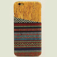 Ethnic Style iPhone 6 6s Plus Case Handmade Cloth Cover Gift-172