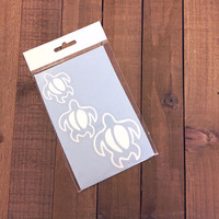 Simply Southern Sea Turtles Decal in White