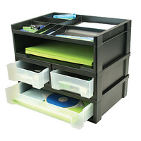 Office Depot® Brand 5-Piece Desktop Organizer Item # 470122