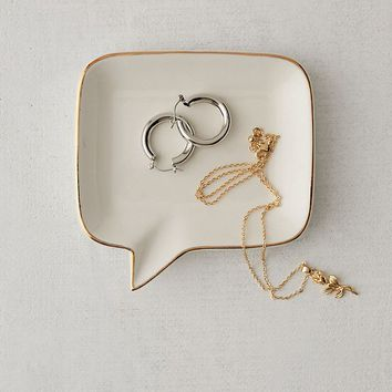 Speech Bubble Catch-All Dish   Urban Outfitters