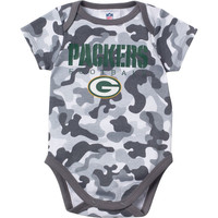 Green Bay Packers Baby Boys Camo Bodysuit