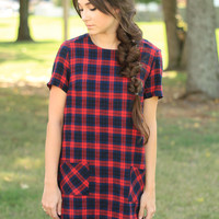 The Plaid Shift Dress