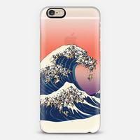 The Great Wave of Pug iPhone 6s case by huebucket | Casetify