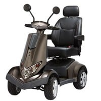 Aviator X Power Scooter S8X - Heartway 4-Wheel Full Size Scooters   TopMobility.com