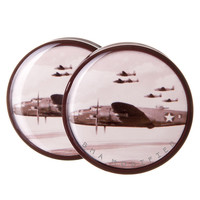 WWII B-25 Plane BMA Plugs (6mm-27mm)
