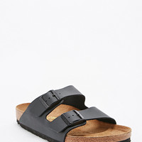 Birkenstock Arizona Birko Leather Sandals in Black - Urban Outfitters