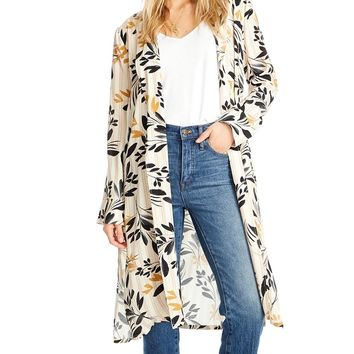 Hayden Fall Petals Robe Cardigan
