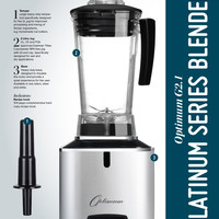 Froothie USA - INTRODUCING THE OPTIMUM G2.1 PLATINUM SERIES BLENDER - Distributors of the Optimum range of appliances