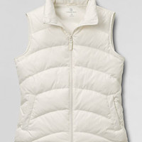 Women's Quilted Down Vest from Lands' End