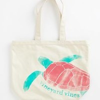 Turtle Graphic Tote