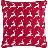 Holiday Pillow Kit - Bright Red, White - Poly - HOLI7273