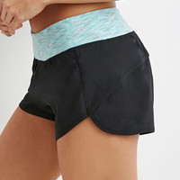 Space Dye Waist Running Shorts
