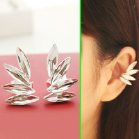 Angel's Wings Fashion Ear Cuffs (Adjustable, No Piercing) - LilyFair Jewelry