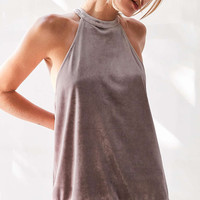 Kimchi Blue Velvet Lace High-Neck Cami - Urban Outfitters