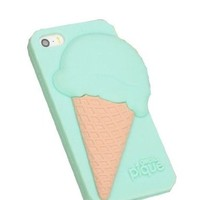 MagicPieces Ice Cream Pattern Phone Case For iPhone 5/5S Color Mint Green DP 0520