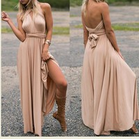 Maternity Dresses Summer Long Maxi Convertible Wrap Gown Dress Bandage Bridesmaid For Pregnant Women Clothes Pregnancy Clothing