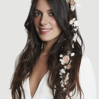 THE DENISE MARIE SILK FLOWER CHAIN