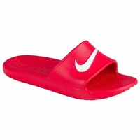 DCCKU7Q Nike KAWA SHOWER Men's Slide Red/White Slipper 832528 600 Free Shipping