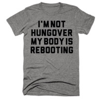I'm Not Hungover My Body Is Rebooting