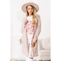 Now That We've Made It Cardigan | Blush