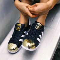 Adidas Superstar Metal Toe Fashion Casual Shoes Sneakers
