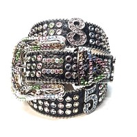 B.B. Simon Fully Loaded 'Numbers' Swarovski Crystal Belt