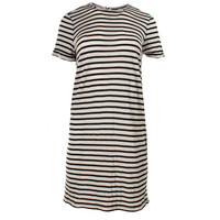 Alice + Olivia Womens Air Knit Striped T-Shirt Dress
